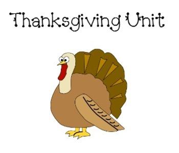Thanksgiving unit for a promethean board