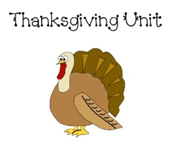 Thanksgiving unit for a promethean board