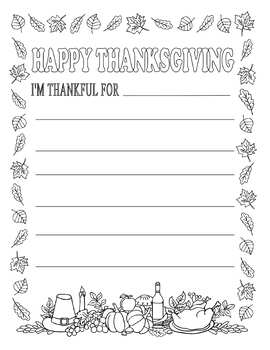 Thanksgiving Coloring Pages (Free Printable for Kids) | 350x270