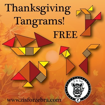 Tangrams - Thanksgiving