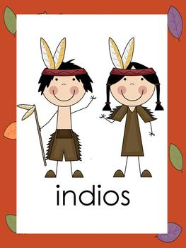 Thanksgiving/Dia de Gracias Preschool Pack {Spanish Version}