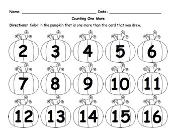 Thanksgiving/November Math Counting Centers