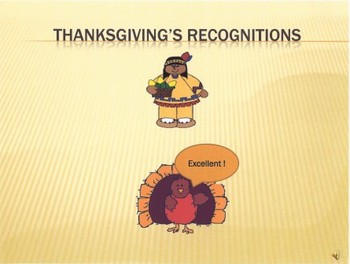 Thanksgiving's Recognitions: Classify Same & Different