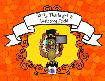 Thanksgiving Family Event Pack