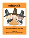 Wishbone!  A Thanksgiving Themed Sight Word Game