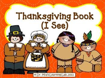 Thanskgiving Book (I See)