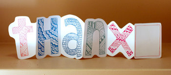 Printable: Thanx Thanks Thank You Card with room for personal note