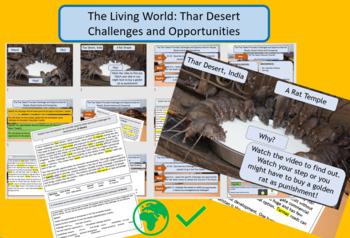 Thar Desert - Opportunities and Challenges - GCSE AQA 9-1 Living World. Full les