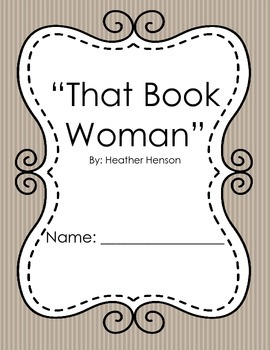"""That Book Woman"" 3rd Grade Common Core ELA Supplement"