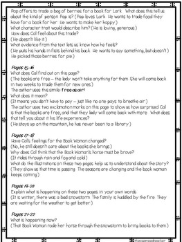 Engage NY Module 1 - That Book Woman - Page by Page Prompts + More