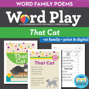 That Cat - At Word Family Poem of the Week