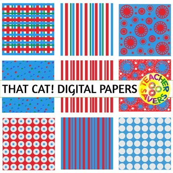 That Cat! Digital Papers