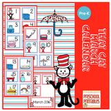 That Cat March Calendar