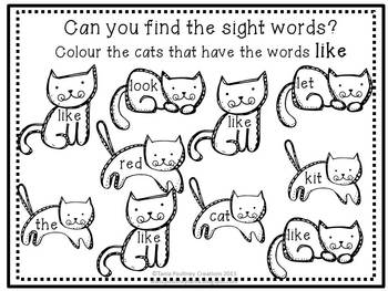 Emergent sight word reader- What will That Cat eat?