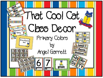 That Cool Cat Primary Classroom Decor