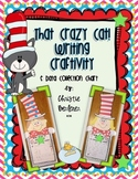 That Crazy Cat! Writing Craftivity