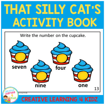 That Silly Cat's Activity Book