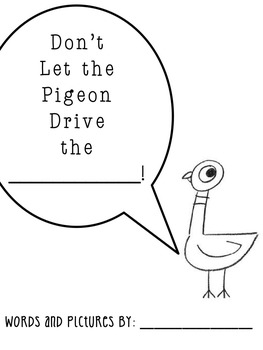 That Silly Pigeon! Craftivity & Other Silly Activities