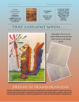 That moment when.... we change! A lesson about transforming