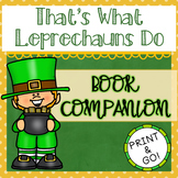 That's What Leprechauns Do by Eve Bunting - Book Companion