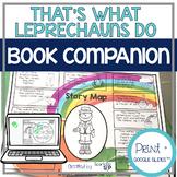 That's What Leprechauns Do Speech Language Therapy Book Companion
