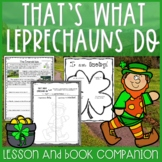That's What Leprechauns Do by Eve Bunting Read Aloud Lesson Plan