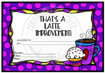 That's a LATTE Improvement!