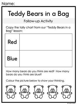 Probability for Kindergarten: Centres, Printables & More