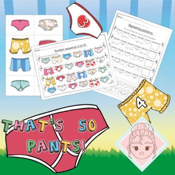 That's so pants!- Book based bundle-Multi area learning worksheets-EYFS-KS1