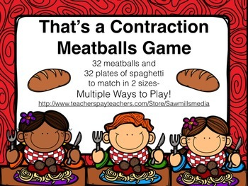 That's A Contraction Meatball Game