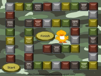Multiplications Facts with Duck Hunters