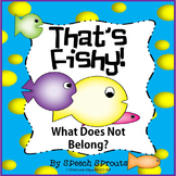That's Fishy! Which Does Not Belong? Negatives and Associations
