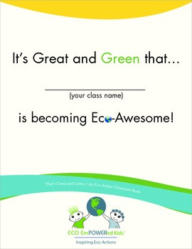 That's Great and Green Classroom Book Kit