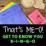 That's ME-O! Get to Know You BINGO Game