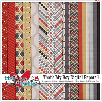 That's My Boy Digital Papers 1