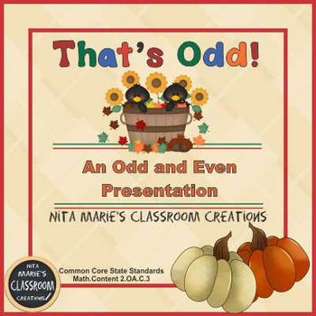 Odd and Even (That's Odd!!)