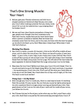 That's One Strong Muscle -Your Heart_ Informational Text Test Prep