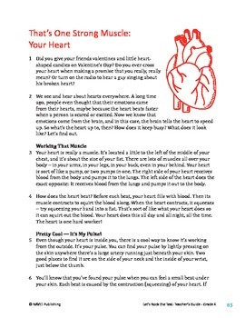 That's One Strong Muscle -Your Heart_ Informational Text T
