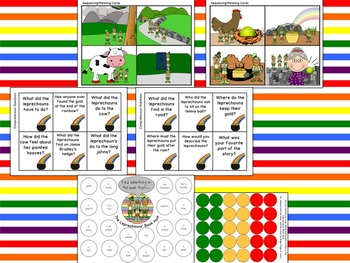 That's What Leprechauns Do:  Language, Literacy and Listening Book Companion