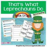 That's What Leprechauns Do by Eve Bunting - Common Core bo