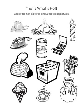 That's What's Hot Fire Safety Worksheet