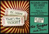 That's the Ticket! No Sugar Set Design Exercise (HSC Australian Drama & Theatre)