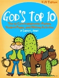 Ten Commandments-KJV (Song, Posters, Student Pages, and Writing Act.'s)