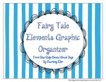 The 10 Fairy Tale Elements Graphic Organizer
