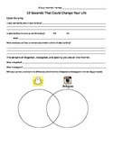 The 10 Seconds That Could Change Your Life- internet safety worksheet