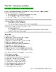 The 100 - Answering Questions with Complete Sentences activity