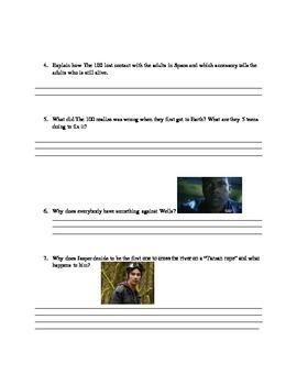 The 100: Season 1 episode 1 questions