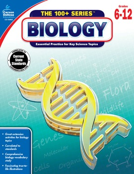 The 100+ Series Biology Grades 6-12 SALE 20% OFF 104643