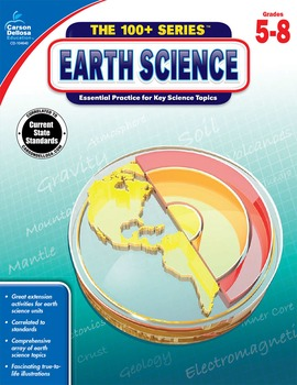 The 100+ Series Earth Science Grades 5-8 SALE 20% OFF 104640