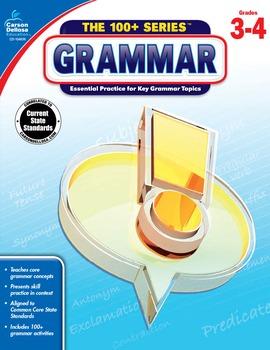 The 100+ Series Grammar Grades 3-4 SALE 20% OFF 104836